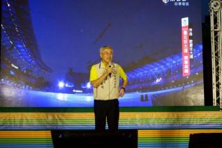 李秘書長:以最新4K科技進行戶外轉播,讓市民朋友在桃園觀賞開幕式精彩演出 。