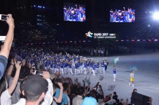 反年改團體19日晚間蓄意阻礙世大運開幕典禮的進行,導致各國選手一度不能進場,讓活動拖延超過半小時,更被民眾砲轟為「國恥日」。
