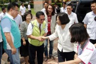 蔡英文總統支持嘉義市推動三合一照顧政策