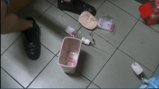 警方查出吸食器等證物。