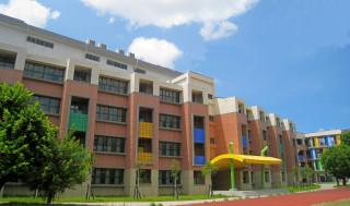 瑞豐國民小學新建校舍,已經在日前取得使用執照,新學期將提供師生歡喜入新厝。(圖/記者曾憶慈攝)