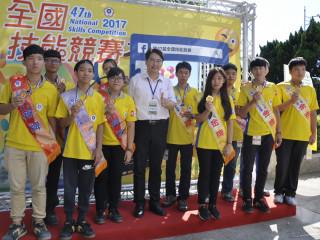 全國技能賽,勞動力發展署雲嘉南分署勇奪13金10銀11銅。