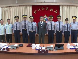 警察晉陞林智堅親授階 為城市英雄打氣