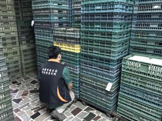 桃園市政府衛生局全面清查轄內大賣場蛋品是否遭到普芬尼污染。