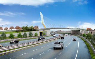 配合桃19號道路(大竹路段)道路拓寬工程,大竹橋8/25零時起雙向封閉15天。