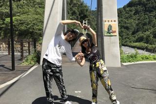 七夕情人節到鳩之澤溫泉區拍照打卡上傳就可享泡湯優惠。(圖/羅東林區管理處提供)