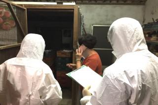 台南8場檢有問題芬普尼雞蛋,經提出自費複驗,今(28)日檢驗報告出爐,有7場都未檢出芬普尼和其代謝物,動保處隨即解除雞隻移動管制。圖/記者黃芳祿攝)