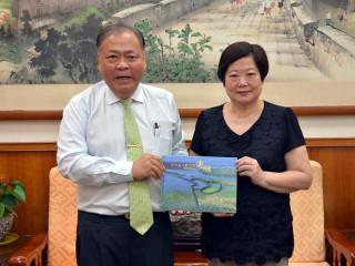 勞動部長拜會澎湖 期盼透過合作為勞工謀求最大福利