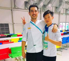 解決世大運選手用餐 國際廚師團隊招募台灣實習生加入