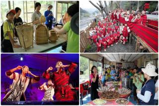仁愛鄉南豐社區有著賽德克族文化特色。(水保南投分局提供)