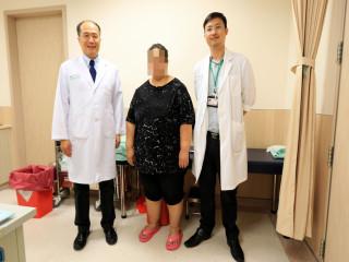 婦人因太胖動胃手術。林重鎣攝