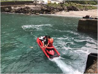 提升汙染應變措施 海洋尖兵進行油污器材訓練