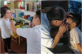 宜蘭縣衛生局每年都會辦理兒童視力檢查。(圖/宜蘭縣衛生局提供)