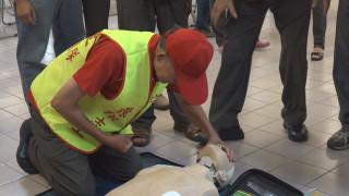 助己助人 樟樹里辦火場逃生.AED急救訓練