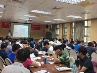 「道路鋪面工程盲試樣策略精進作為研討會」於國立中央大學展開。