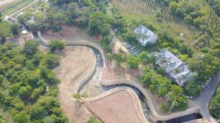 楊梅區三七北圳屬社子溪水系,流向由東南向西北方向流,從楊梅區到新屋區。