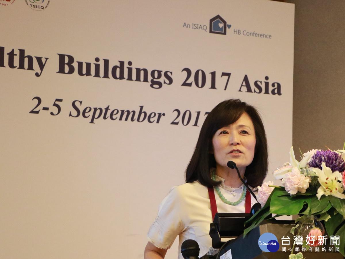 亞洲健康建築國際研討會 成大校長暢談室內空品對健康影響