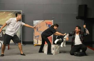 萍蓬草兒童劇團演出以已故文建會主委王拓創作之兒童文學作品《小豆子歷險記》、《咕咕精與小老頭》