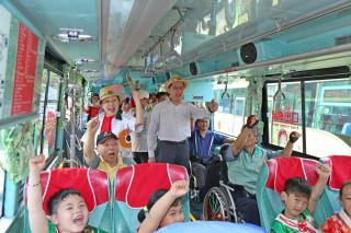 嘉義區監理所協調客運業者,中正、南華、吳鳳等校喜迎公車
