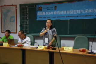 南投教育處副處長王淑玲強調南投將逐步拓點。(記者扶小萍攝)