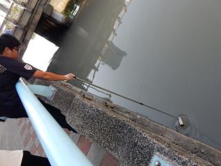 因應連日高溫 基市將持續監控河港水質
