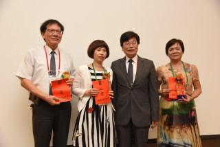 頒獎表揚-南投縣衛生局獲加強結核病防治競賽第一名。