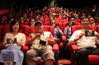《曼菲》特映會在宜蘭新月豪華影城登場。(圖/宜蘭縣文化局提供)