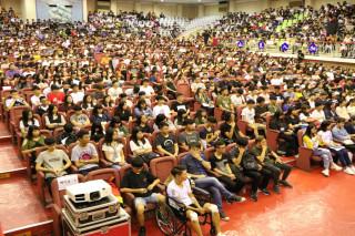 崑山科大106學年度新生輔導在該校青雲館舉辦。