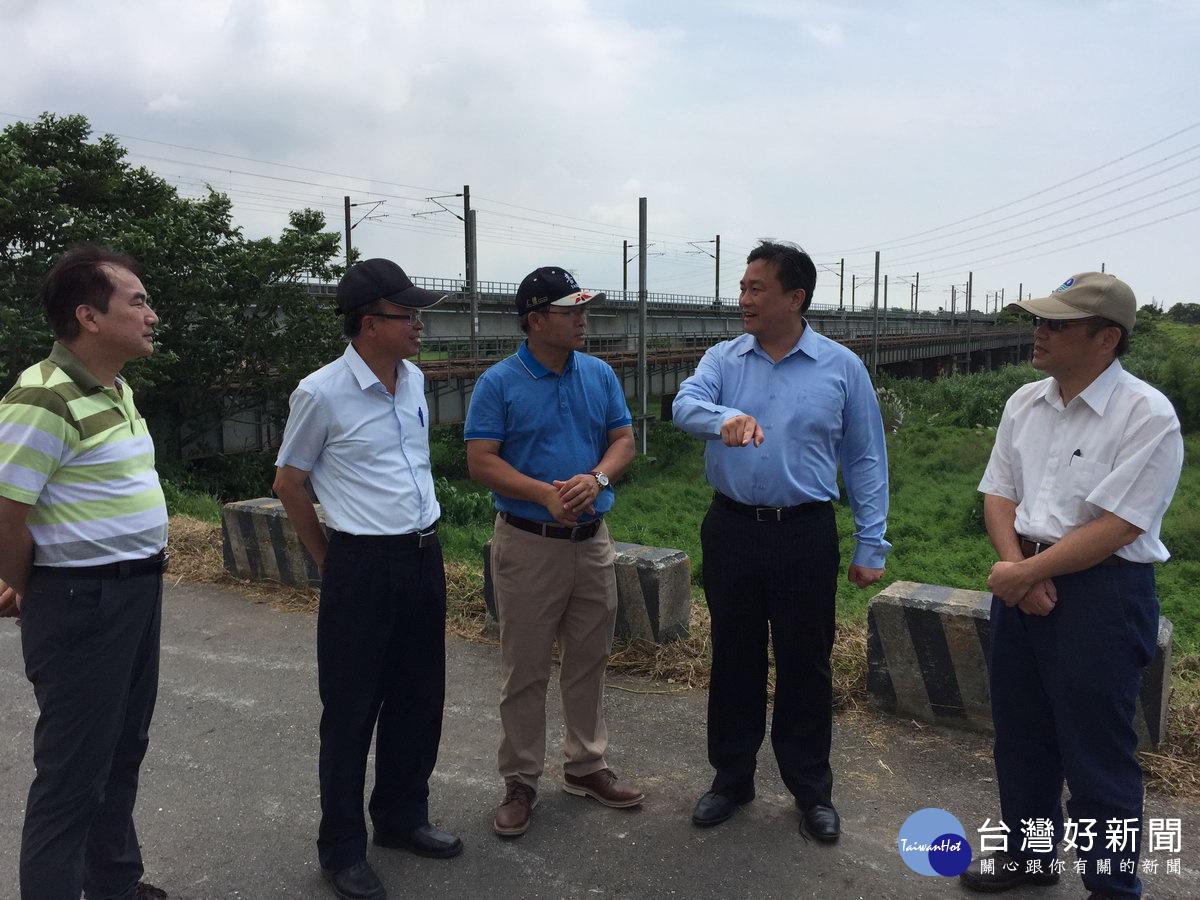 活化台南仁德區中洲舊鐵橋 王定宇爭取打造二層行溪新地景