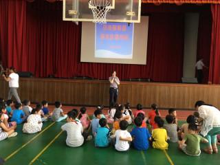 灌輸學童自我保護觀念 北市警開學季進行防身宣導