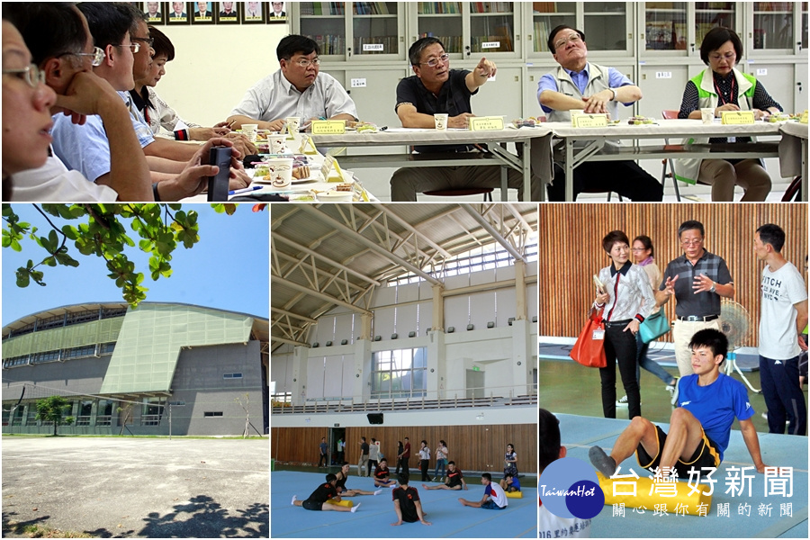 宜蘭體操、武術館要脫胎換骨  1個月內向體育署提補助計畫