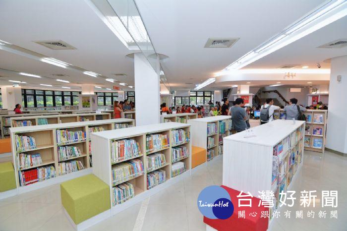 讓民眾喜歡走進圖書館 桃園中壢圖書分館空間改造啟用