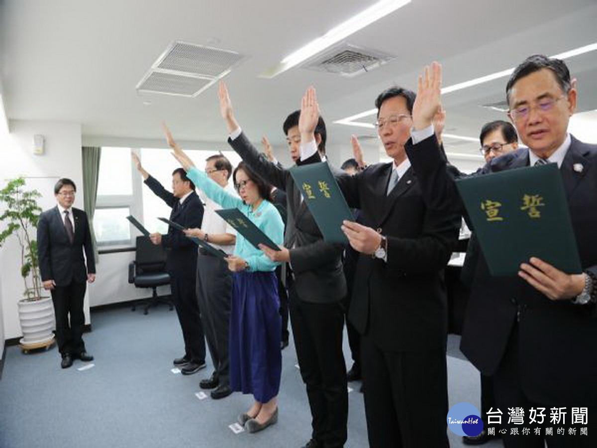 台南市府全體首長12日宣誓就職 將持續完成各項重大建設