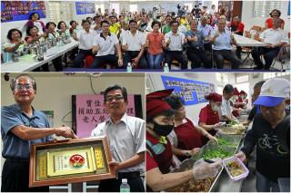 五結鄉率全國之先首辦「老人餐飲中央廚房」計畫。(圖/記者陳木隆攝)