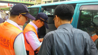補教業載送學童違規事件頻傳 彰化監警聯合執行車安專案稽查