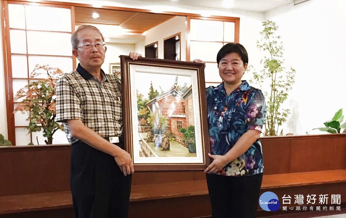 文史教育家莊興惠 以畫筆呈現客家房屋建築之美