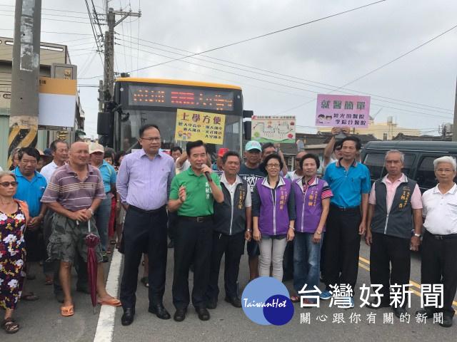 民代爭取大安699線公車行駛 中市宣佈15日起上路