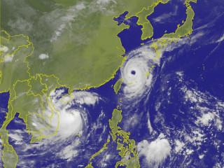 泰利颱風外圍環流持續影響 氣象局:北台灣仍需嚴防大雨(圖/中央氣象局提供)
