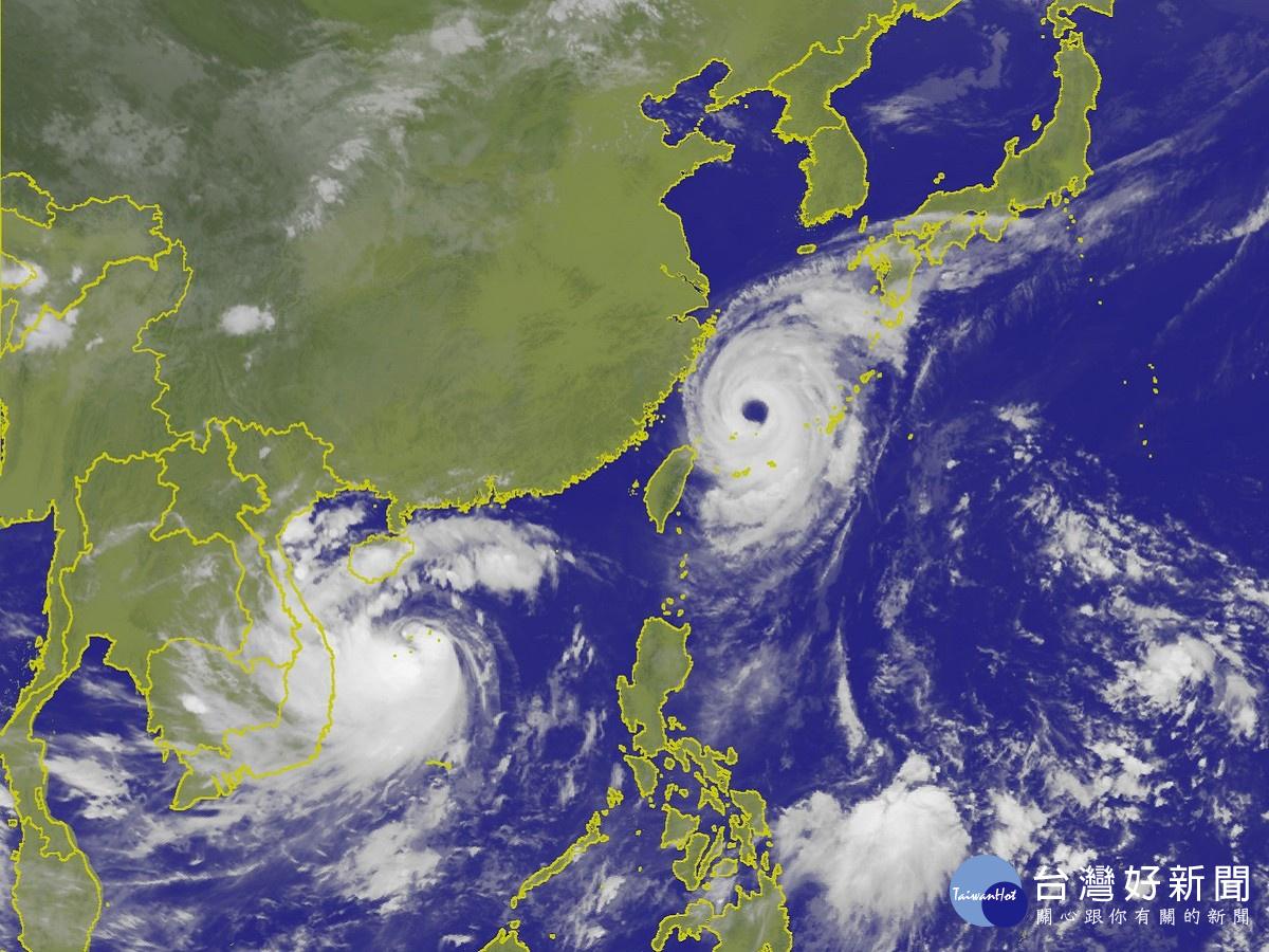 泰利颱風外圍環流持續影響 氣象局:北台灣仍需嚴防大雨