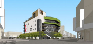 桃園市中壢第一公有零售市場新建工程標案已決標,將儘速展開動工事宜。