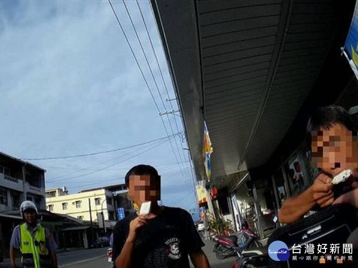 通緝犯超商買冰遭警逮捕 仍心繫車內冰棒