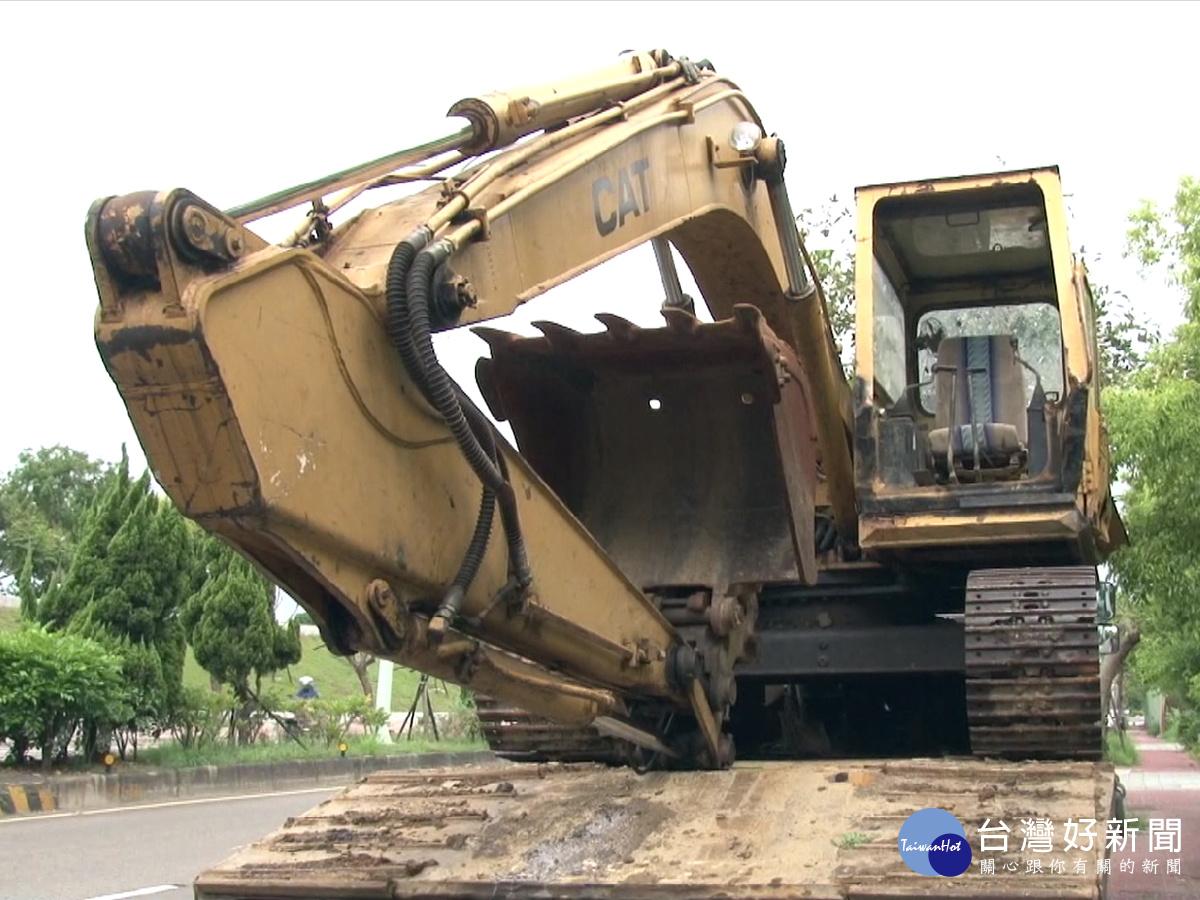打擊宵小破壞山林 新竹地檢署拍賣挖土機