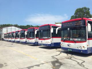 提供友善搭乘環境 北市低地板公車比例突破8成