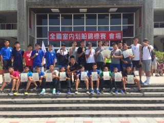 桃園市划船代表隊參加「106年全國夏季室內划船賽」創下佳績。