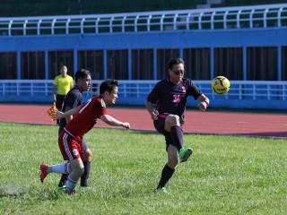 桃園韓國足球交流賽   台韓雙方友誼更加深遠(體育局局長夏金興錯場比賽)