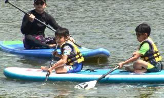 重啟水上運動 盼帶動青草湖觀光發展