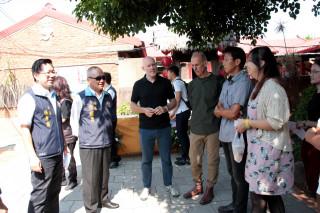 打造文創聚落 5位國內外藝術家進駐頭份蘆竹湳古厝