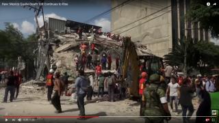 墨西哥7.1強震149死 5台僑受困廢墟(圖/翻攝自美聯社 Associated Press youtube影音頻道)