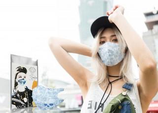 隨著現代人出門越來越講求穿搭,最近也吹起了一股口罩時尚單品風,讓每天出門不可或缺的口罩,也變成時尚配件的一環。(圖/布蘭卡提供)