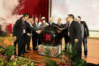 亞洲城市災害管理論壇20日於高雄大學舉辦。(圖/記者潘姿瑛攝)